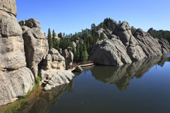 Lac sylvain Photos libres de droits