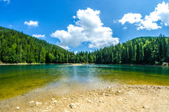 Lac Synevyr Photo stock