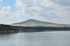 Lac Tambukan avec la boue pour la station de vacances Photo libre de droits