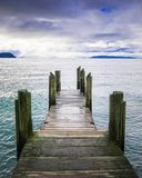 Lac Taupo photographie stock