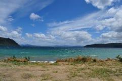 Lac Taupo Photos libres de droits
