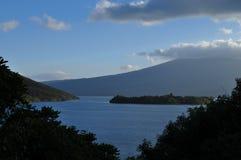 Lac Taupo Images libres de droits