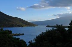 Lac Taupo Photographie stock libre de droits
