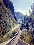 Lac Taupo Nouvelle Zélande Images stock