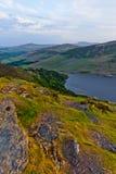 Lac Tay, montagnes de Wicklow, Irlande image libre de droits