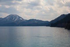 Lac Tazawako, Japon Image stock