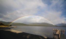 Lac Te Anau Image libre de droits