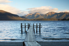 Lac Te Anau Photo stock
