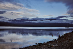 Lac Te Anau New Zealand images stock
