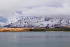 Lac Tekapo, Nouvelle Zélande Photo libre de droits