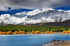 Lac Tekapo, Nouvelle Zélande Photographie stock