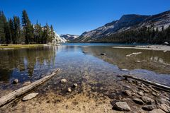 Lac Tenaya, stationnement national de Yosemite images stock
