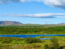 Lac Thingvallavatn en Islande - 2 Photographie stock libre de droits