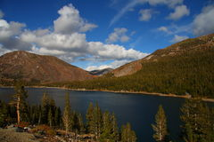 Lac Tioga Photographie stock