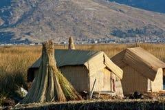 Lac Titicaca Photos stock