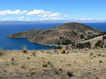 Lac Titicaca au Pérou Photos stock