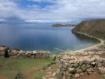 Lac Titicaca, Bolivie Photos libres de droits