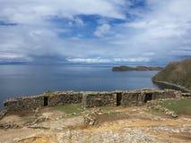 Lac Titicaca, Bolivie Photographie stock