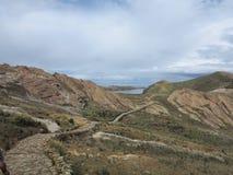 Lac Titicaca, Bolivie Photographie stock libre de droits