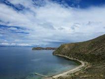 Lac Titicaca, Bolivie Image libre de droits