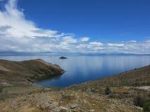 Lac Titicaca, Bolivie Images libres de droits
