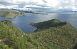 Lac Titicaca, Bolivie Image stock
