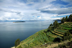 Lac Titicaca, Bolivie Photographie stock