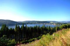 Lac Titisee Photos libres de droits