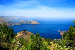 lac toba Images stock