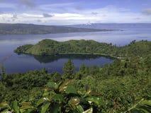 Lac toba Photos libres de droits