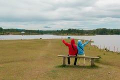 Lac Toba, Medan, Indonésie Images libres de droits