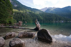 Lac Tovel, Images stock