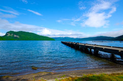 Lac Towada, Japon. Photographie stock libre de droits