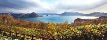 Lac Toya Hokkaido, Japon Images stock