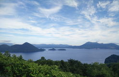 Lac Toyako Photo stock