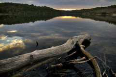 Lac tranquille Image stock