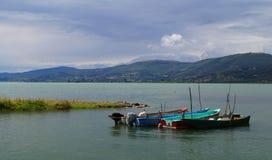 Lac Trasimeno Photographie stock libre de droits