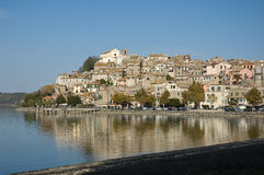 Lac Trasimeno en Italie Photos libres de droits