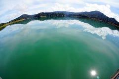 Lac tropical Photo libre de droits