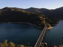 Lac Turano Images libres de droits