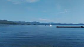 Lac Turgoyak Photographie stock