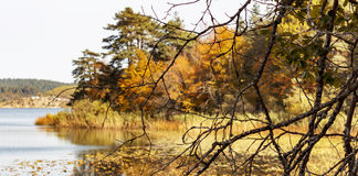 Lac Turquie Abant Photographie stock