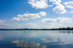 Lac turquoise Photo stock