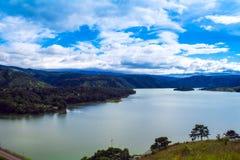 Lac Umiam, Shillong, collines est de Khasi, Meghalaya Photos libres de droits