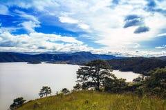 Lac Umiam, Shillong, Meghalaya Images libres de droits