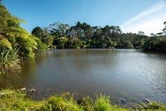 Lac un jour ensoleillé Images libres de droits