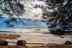 Lac vänern image stock