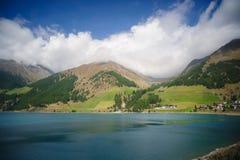 Lac Val Senales Photographie stock