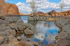 Lac Vallon-Watson d'AZ-Granit Image stock
