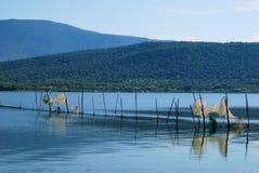 Lac Varano APULIA Images stock